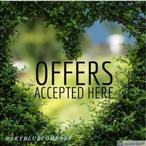 All reasonable offers accepted🍀